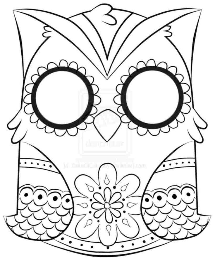 animal owl colouring pages for toddlers cute owl ag