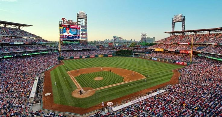 Citizens Bank Park! Home of the Philadelphia Phillies! #stadiums #elitestadiums #philadelphia #philadelphiaphillies #phillies #phills #citizensbankpark #phillyfanatic #mlb #baseball #sports #instagood