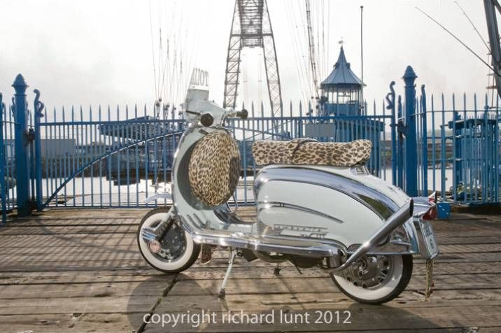 Friday night special. Lambretta TV 175 Series 2