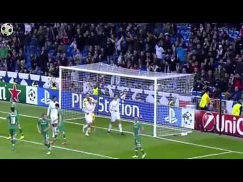 Реал Мадрид -  Лудогорец 4-0 ( 9 декабря 2014 г,) Лига чемпионов