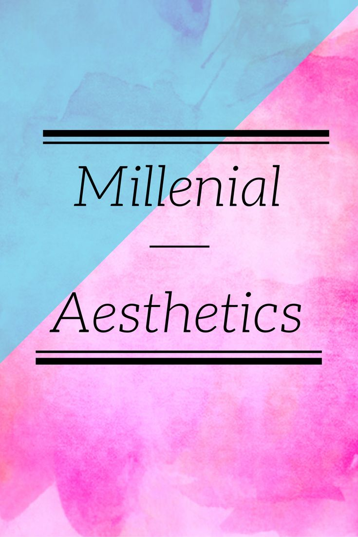 Exploring visual aesthetic trends of 20 and 30-somethings.