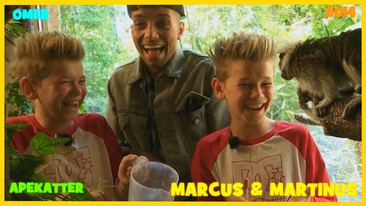 Marcus og Martinus mater apekatter med Omer Bhatti