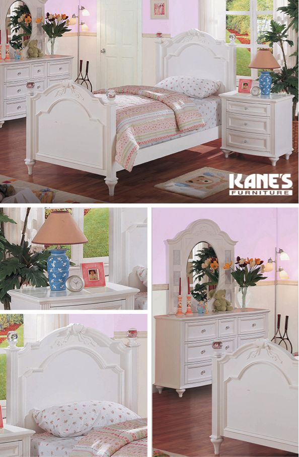 Chantilly Twin Bed Collection
