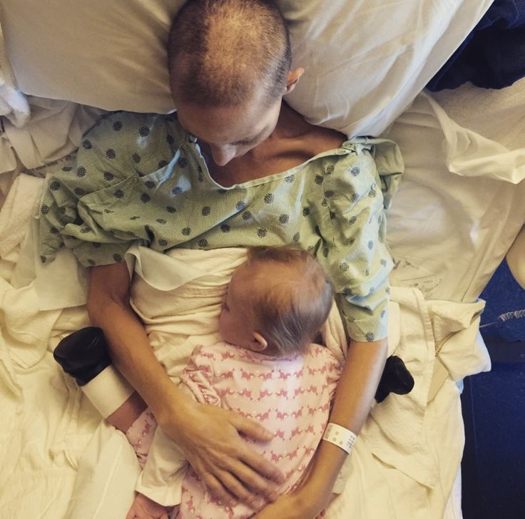 """Joey and Indiana. Rory posted today: """"The last couple of mornings, I've brought Indiana up here to spend time with her mama.  Both of their eyes light up the moment they see each other. It's been beautiful."""" Hospice is going to be coming for Joey. Please pray for her and Rory and their family. 11-9-15"""