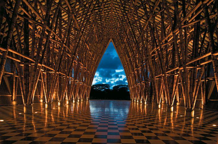 Simon Velez, Colombia -Bambu: Simon Velez, Simón Velez, Boathouse, En Bambú, Sin Religion, Simón Vélez, Architecture, Bamboo Architecture