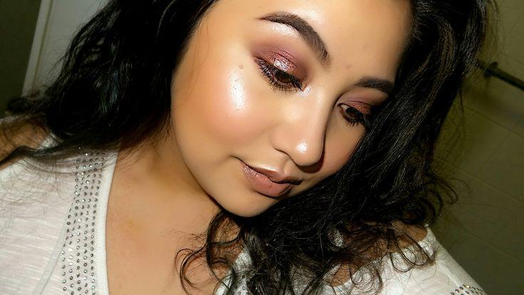 Coloured smokey eye High light glow - Jai-Maree