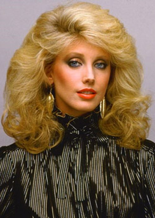 morgan fairchild vintage hairstyles big hair