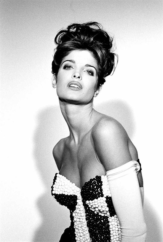 Stephanie Seymour (1968) - American actress and model. Photo © Jean Daniel Lorieux, 1991