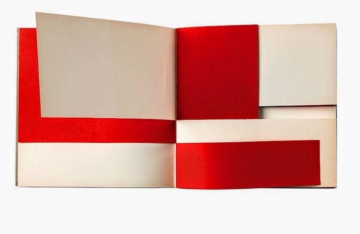 """Bruno Munari – """"An Unreadable Quadrat-Print"""", Steendrukkerij de Jong & Co., Hillversum, 1953"""