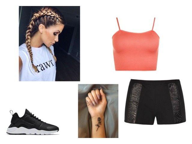 """Teste para  cheerleader"" by nayara-ferreira on Polyvore featuring moda, Rachel McMillan, NIKE e WearAll"