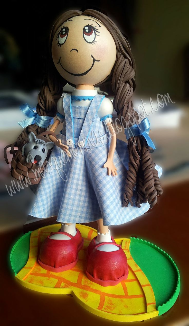 Fofucha Dorothy y Totó, El Mago de Oz