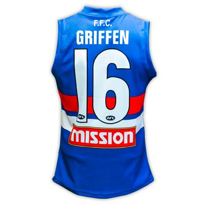 Western Bulldogs Youth Name & Number Guernsey $90  For the first time in AFL history these Guernseys were worn in Round 5 2014. Purchase yours today!