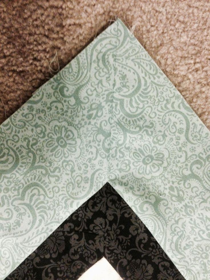 Best 25+ Mitered corners ideas on Pinterest | Sewing mitered ... : miter corners on quilts - Adamdwight.com