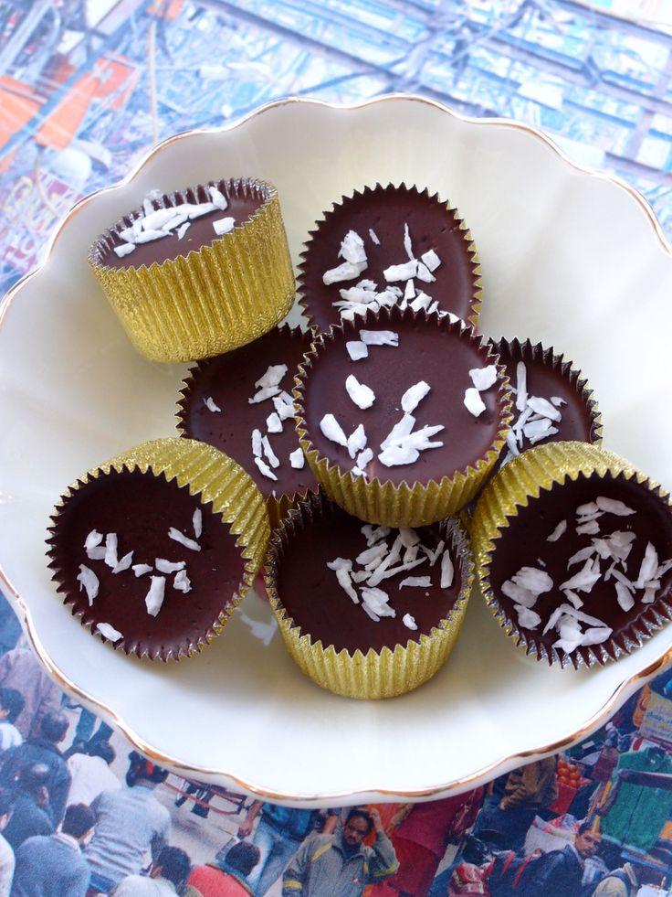 Ischoklad med kokos