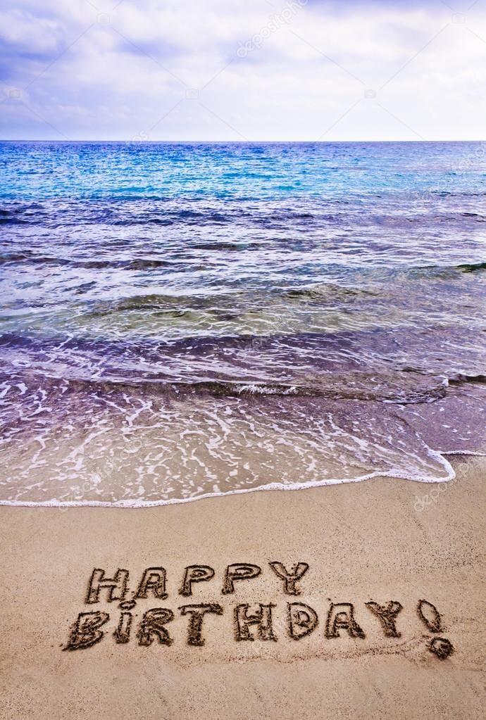 Image Result For Happy Birthday Beach Happy Birthday Greetings