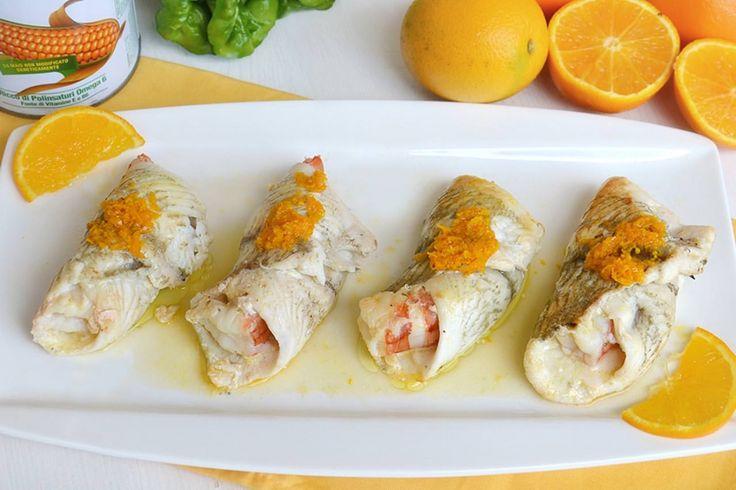 Involtini di platessa all'arancia, SCOPRI LA RICETTA: http://www.misya.info/ricetta/involtini-di-platessa-allarancia.htm