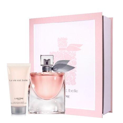 Lancome Paris La Vie Est Belle Sevgililer Günü Seti Özet Bilgi : La vie est belle sprey parfüm 30ml+ La vie est belle vücut losyonu 50ml Fiyatı - 139,00 TL İndirimli Fiyatı - 125,10 TL  Ürün hakkında daha fazlasına erişmek için linke tıklayabilirsiniz. http://www.dermoeczanem.com/lancome-paris-la-vie-est-belle-kit