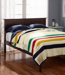 #LLBean: Hudson's Bay Point Blanket Warmest Blaney I own!!! A must for more. Keeps extreme cold out!