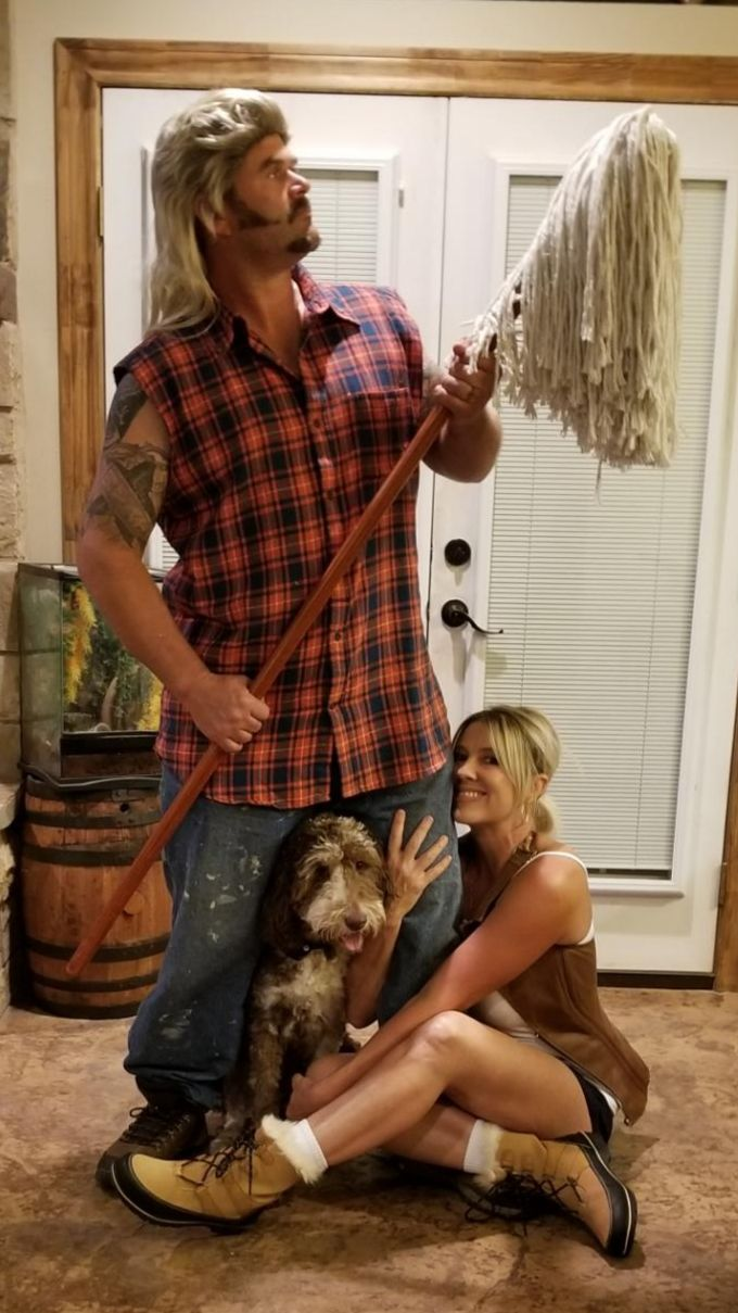Joe Dirt and Brandy Joe dirt costume, Couple halloween