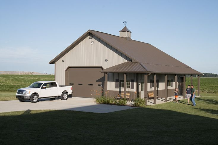Metal Buildings With Living Quarters Oklahoma Home