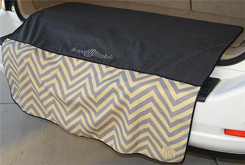 """$36 Large 46"""" Chevron Bumber Blanket"""