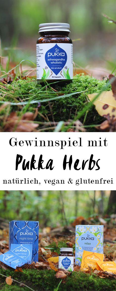 >>>Gewinnspiel<<<  Mit den natürlichen Bio-Nahrungsergänzungsmitteln von Pukka Herbs gesund durch die kalte Jahreszeit.  Bio-Teesorten für einen ruhigen Schlaf und Entspannung, basierend auf ayurvedischem Wissen.  vegan, glutenfrei & zuckerfrei