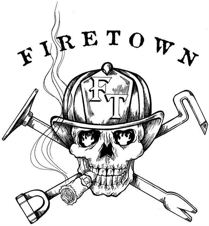 Firetown Training Specialist Firefighter Decor Firefighter Firefighter Tshirt