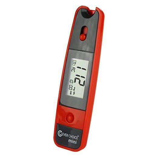 Simple Diagnostics Clever Choice Auto-Code Mini Blood Glucose Monitor