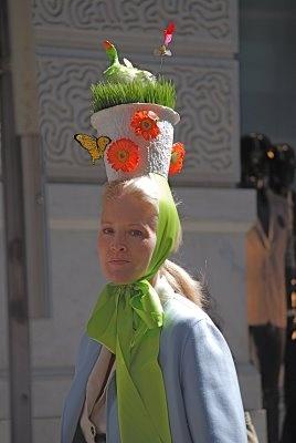 flower pot easter hat