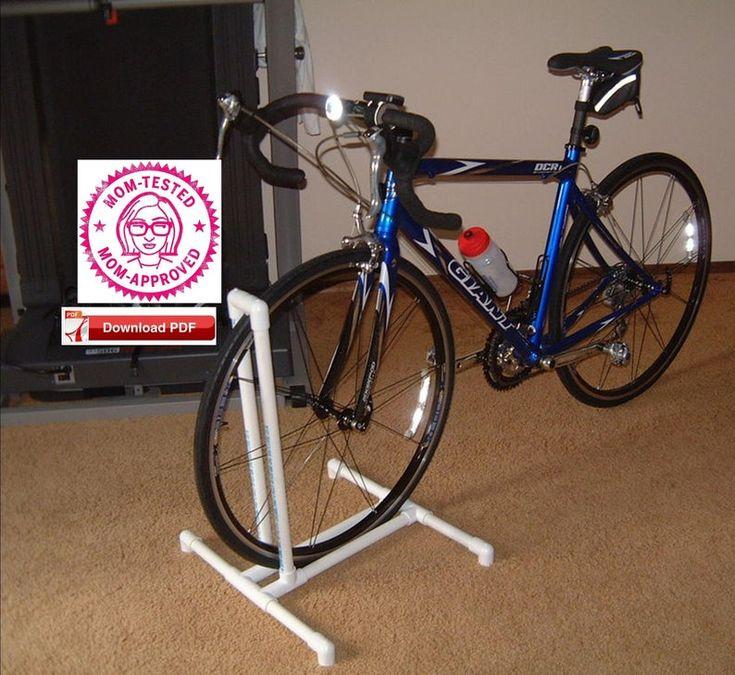 Bike stand plan pvc bike stand planbicycle stand plan