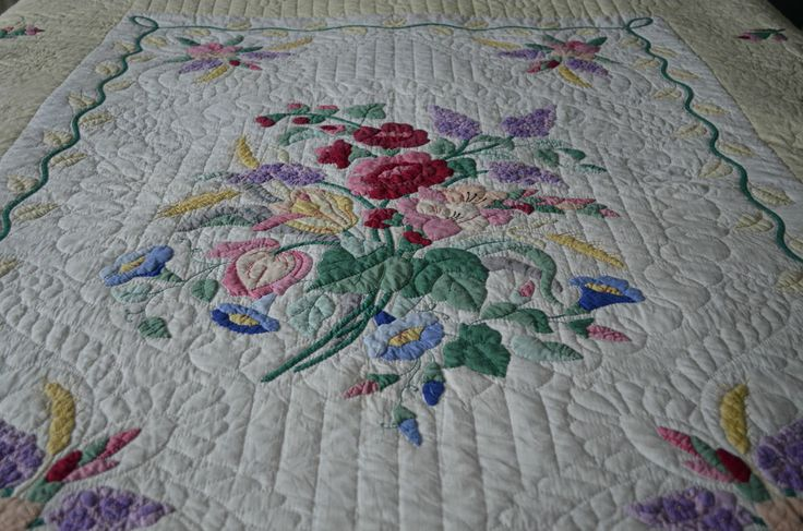 1000 Images About Vintage Quilt Kits On Pinterest Quilt