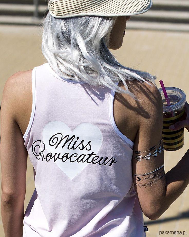 bluzki - t-shirty - damskie-Tank Top Miss provocateur