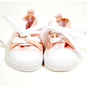 Pink Canvas Sneakers. Fit Dolls Such as American Girl® and Bitty Baby®. (Toy): Babies, Pink Canvas, Girls Generation, Canvas Sneakers, Fit Dolls, Bitty Baby, Baby Items, Canvases, American Girls