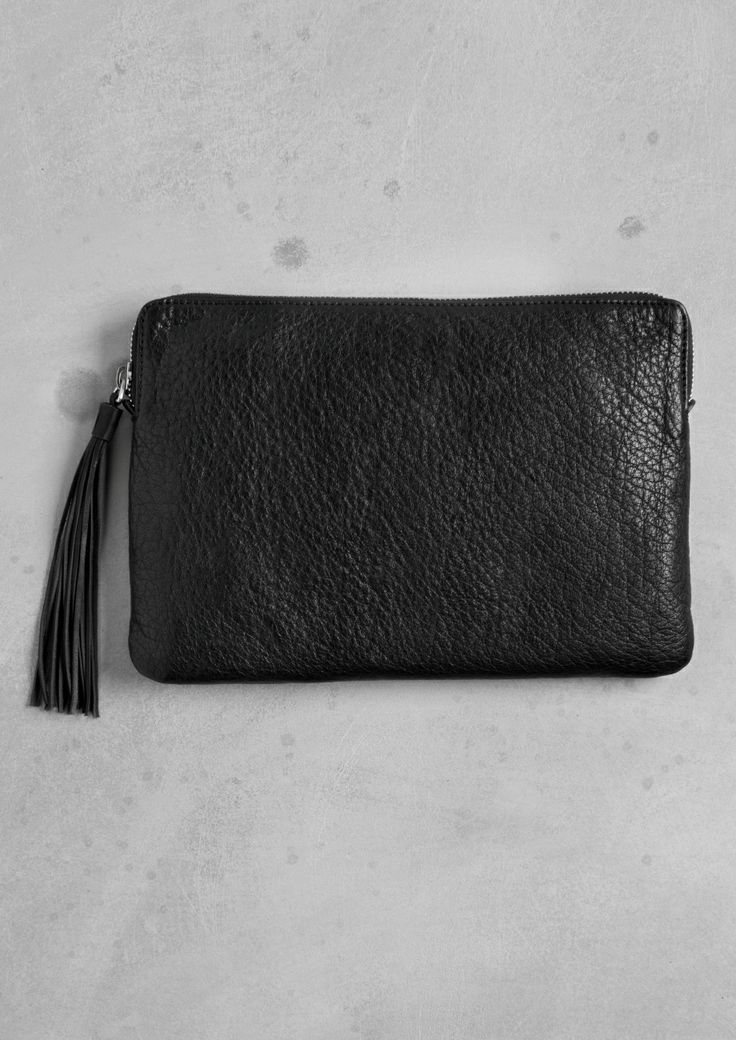 & Other Stories / LEATHER CLUTCH