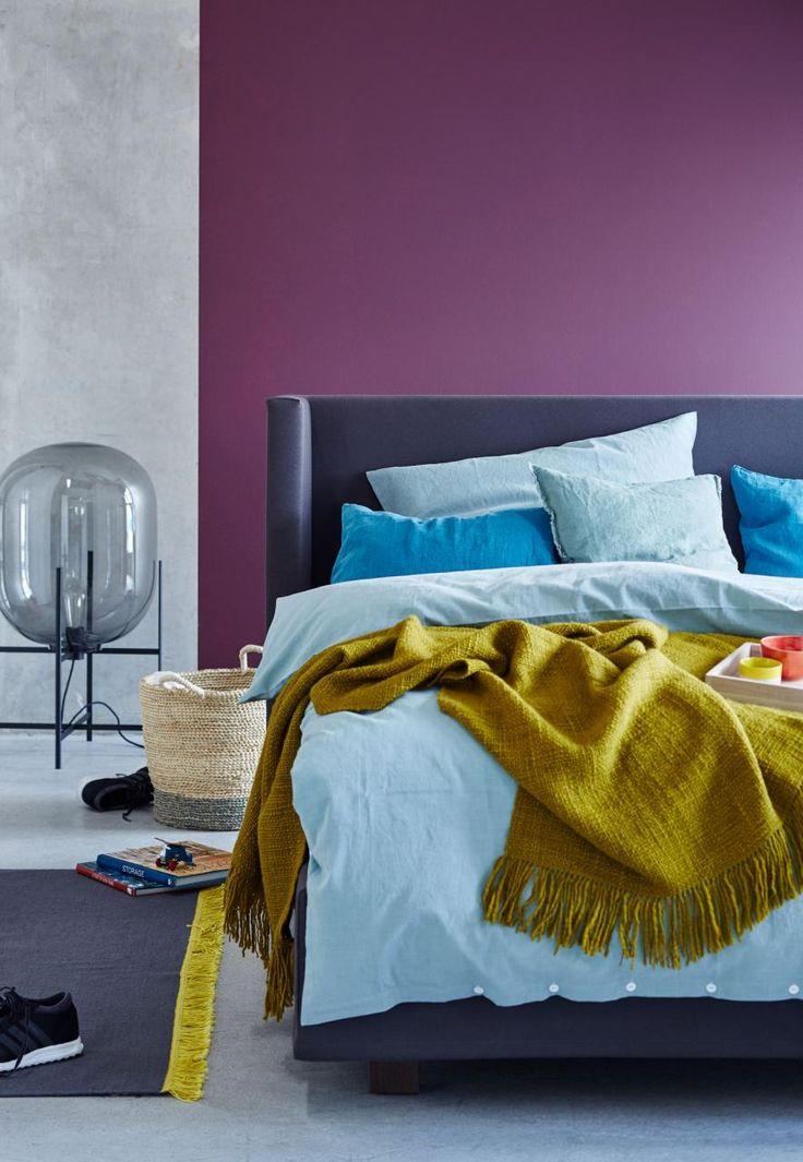 die 25+ besten blau lila schlafzimmer ideen auf pinterest | lila