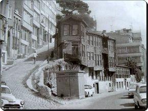 Kabatas Setüstü Istanbul 1970s