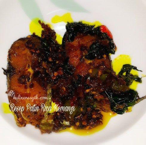 Bosan dengan olahan ikan seperti biasa? Coba resep ini deh : ikan patin rica kemangi. Lembut, pedas, gurih dan harum ala Manado. Intip yuuk...