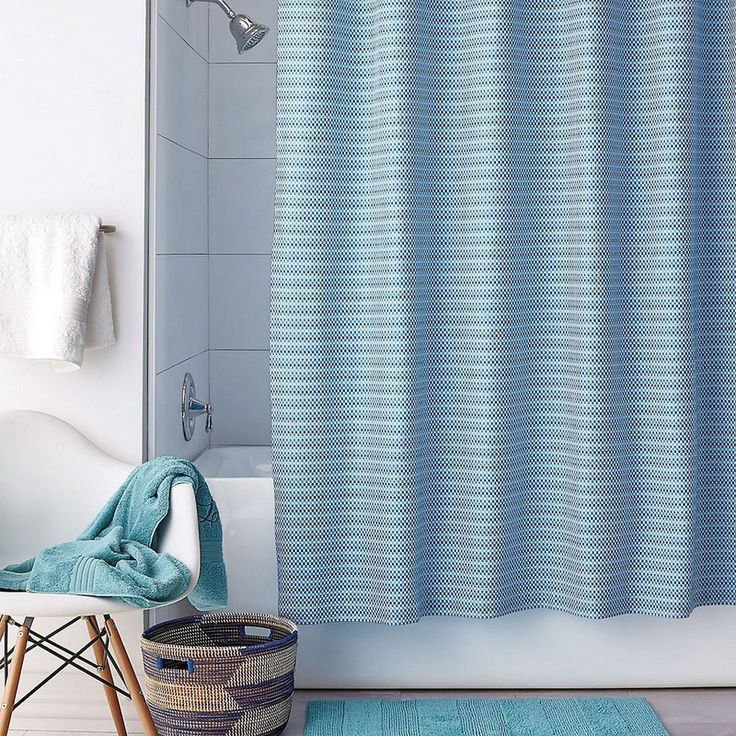 Pixel Shower Curtain Bold And Bright Our Cotton Is A Textural Weave Of Fresh Pixelated Color Mix Or Match With Company