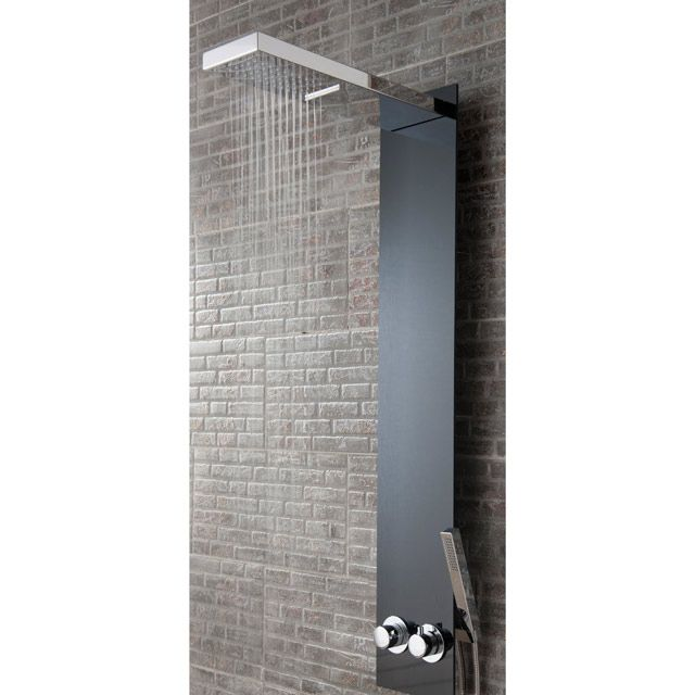 colonne de douche keila castorama bathroom sdb salledebain yesss pinterest lofts. Black Bedroom Furniture Sets. Home Design Ideas