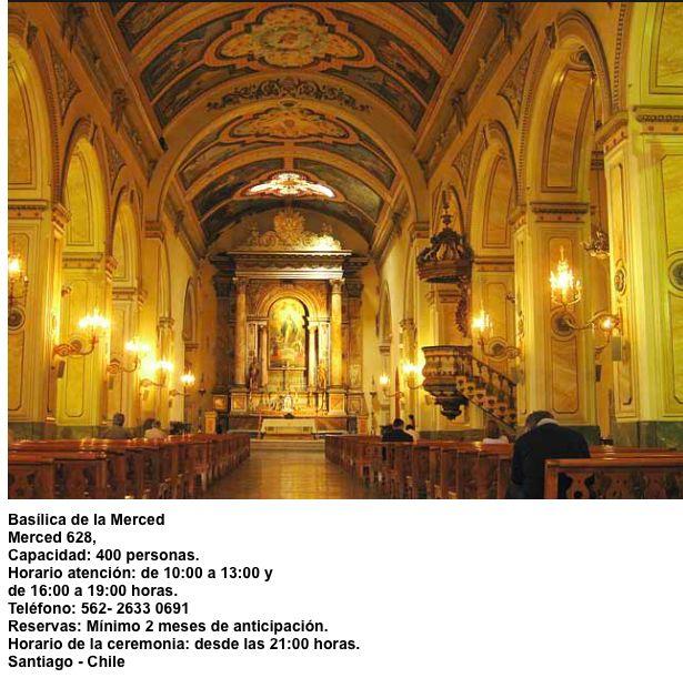 Iglesia de la Merced     Merced 628   Santiago - Chile