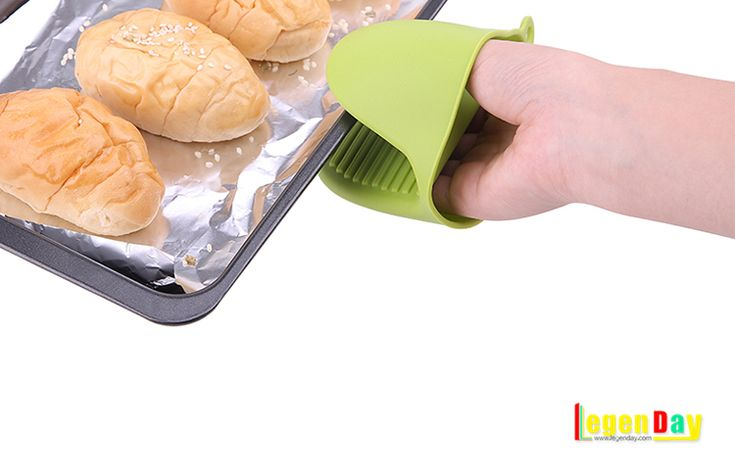 High quality heat resistant silicone mini oven mitt