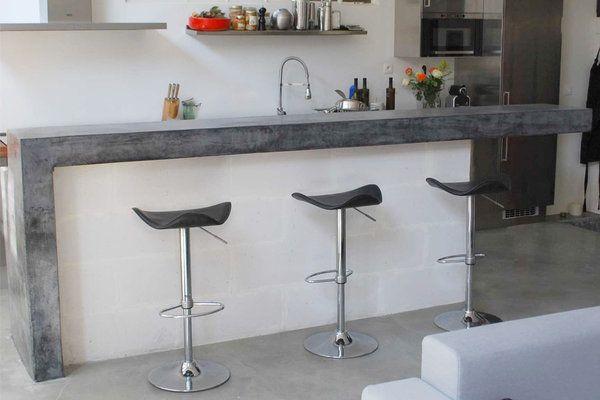 bar en b ton cir alexandra pinterest beton cir beton et bar. Black Bedroom Furniture Sets. Home Design Ideas