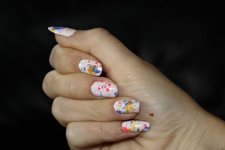 Desiree and her gobstopper nails!