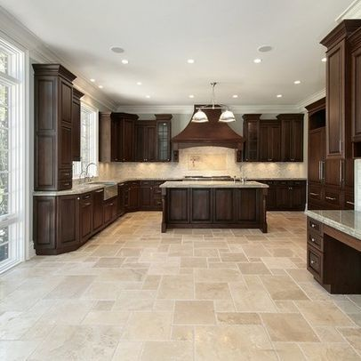 about tile floor kitchen on pinterest traditional kitchen tiles
