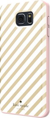 kate spade new york Flexible Hardshell Case for Samsung Galaxy Note 5 - Gold Diagonal Stripe - Verizon Wireless