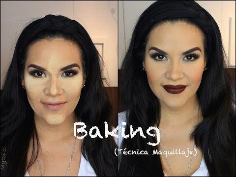 """Baking"" Tecnica Maquillaje | Mytzi Cervantes - YouTube"