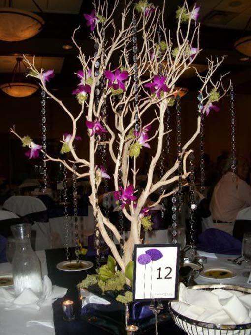 tree centerpieces for weddings diy | Wedding | Pinterest