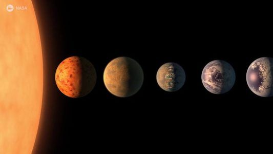 NASA discovered a new solar system and 3 of its 7 planets are potentially habitable.NASA  #news #alternativenews