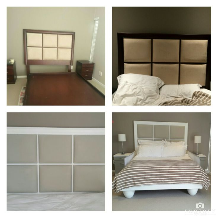Bedroom suite done with chalk paint