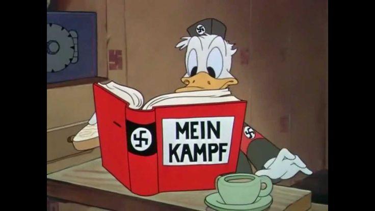 """Donald Duck Nazi """"Der Fuehrer's Face"""" - 1943 [HD]"""